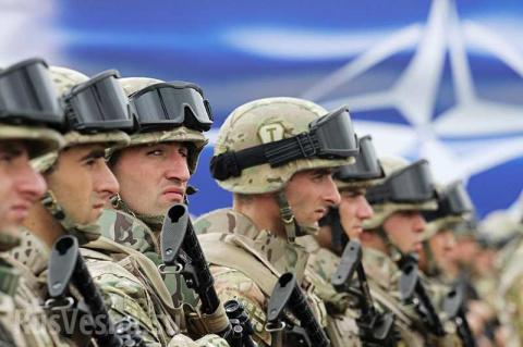 В Балаклею прибывают военные НАТО