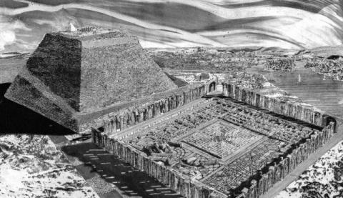 Самый гигантский и древний лабиринт в мире.