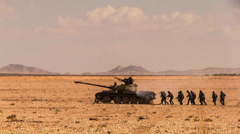 При прорыве из террористического окружения в Сирии трое российских военнослужащих получили ранения