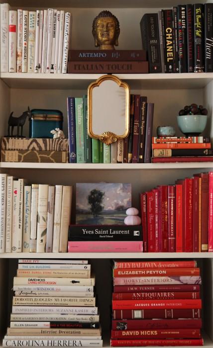 Как преобразить книжные полки