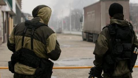 В Грозном блокированы боевики