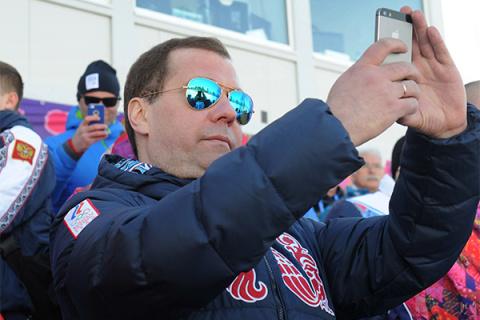 Медведев вновь напомнил о своем экстравагантном вкусе