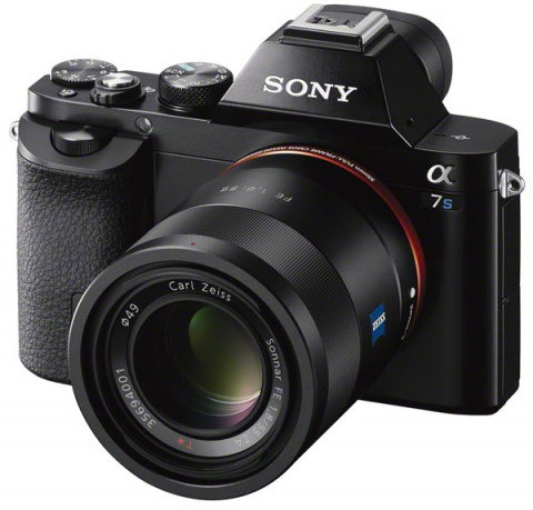 Полнокадровая беззеркальная камера Sony α7S поддерживает съемку видео 4К Big