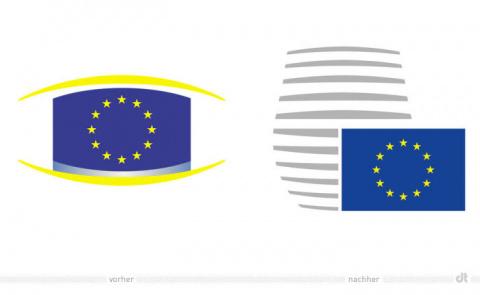 Бельгийцы обновили логотип Евросоюза