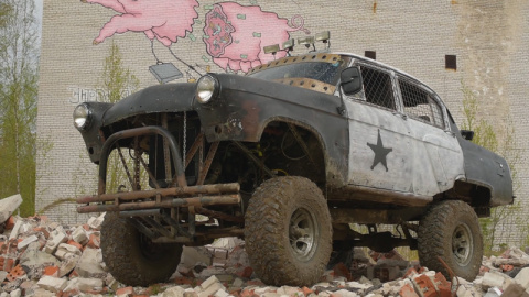Волга ГАЗ-21 в стиле Fallout