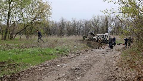 ЛНР сбила украинский беспило…