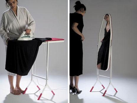 Сальто гладильной доски