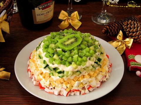 Рецепты салатов на Новогодни…