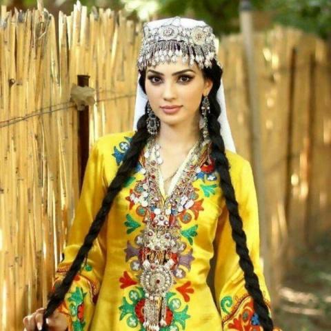 15 самых красивых таджикских девушек