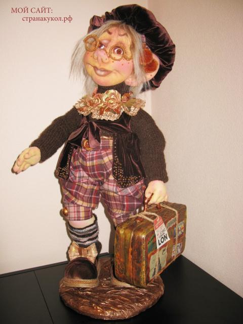 Научу по скайпу по интернету делать чудесные авторские куклы.
