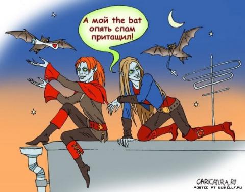 Карикатуры на вампиров (118 фото)