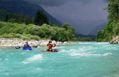 Река Соча: изумрудная красавица