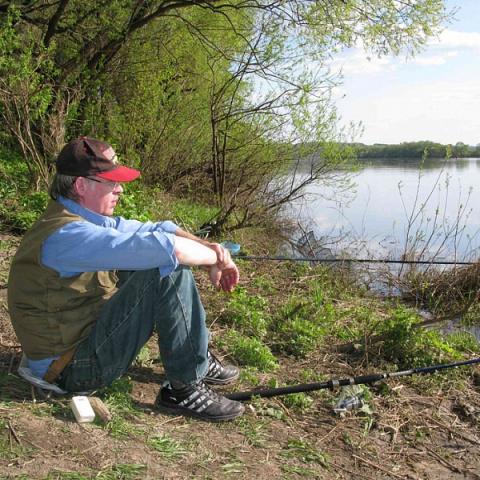 С донкой на весенние реки Подмосковья