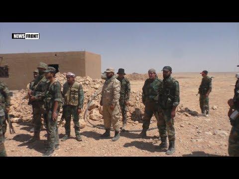 Сирийская армия освободила от боевиков город Хумайма