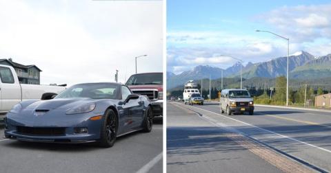 Идеальные дороги в глубинке на Аляске, которые бросают тень на дорожников России