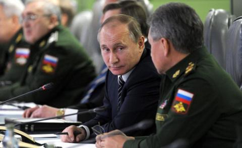 Пусть русские войдут в Сирию…