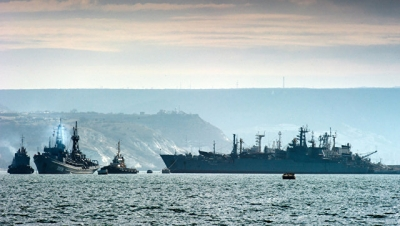 Военные корабли России вышли…