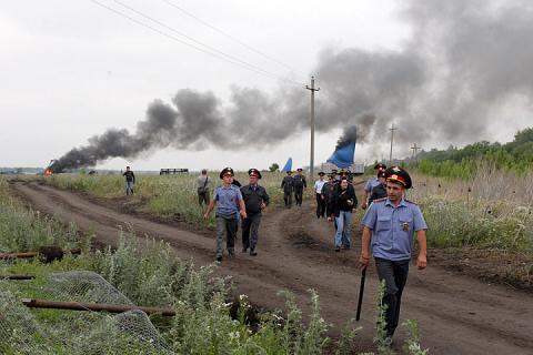 Битва в Прихоперье-прямой вызов власти, 2013 год. Презентация «национал-экологизма»