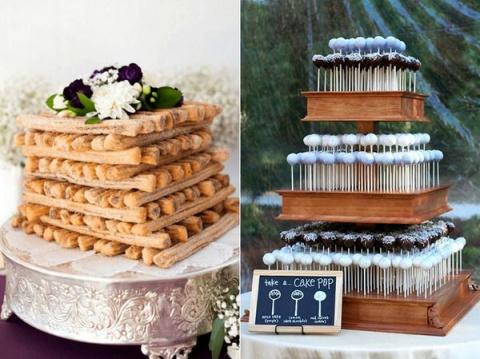 22 свадебных торта для тех, кто ненавидит торты в принципе