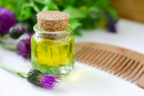 Репейное масло для красоты волос и кожи