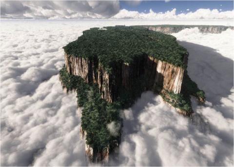 30 невероятных мест на Земле, словно с другой планеты