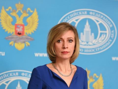 Мария Захарова покупает российскую одежду