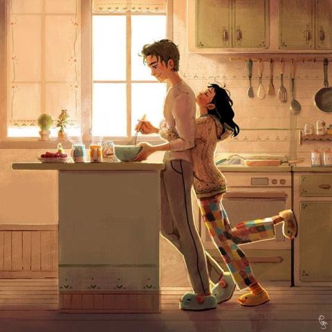 Любовь заключается в мелочах: иллюстрации художницы Линн Чой