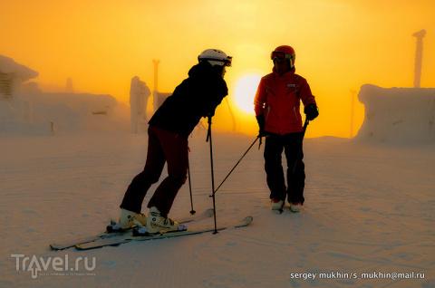 Снежные истории из Лапландии. Леви
