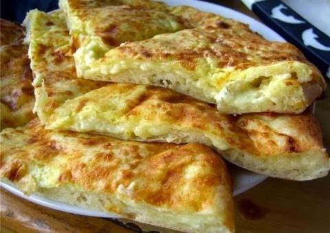 Хачапури к завтраку.