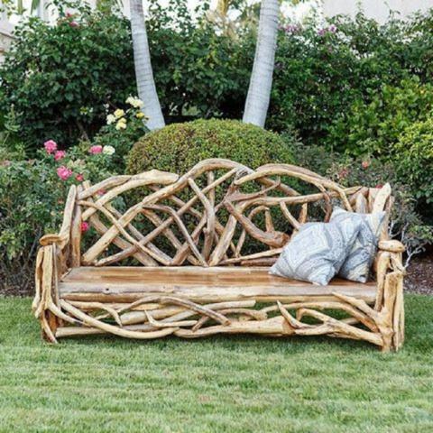 Мебель из коряг (подборка)