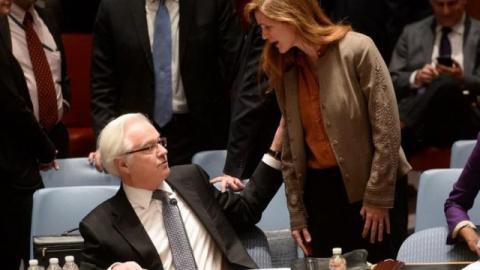 Битва между Чуркиным и Пауэр в ООН