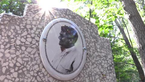 Странности на омском кладбищ…