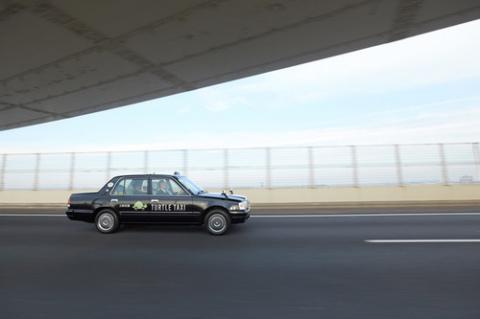 В Японии запустили медленное такси