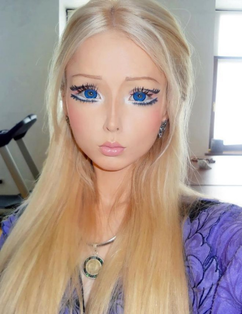 """""""Барби"""" Валерия Лукьянова, показала, как выглядит без косметики и фотошопа"""