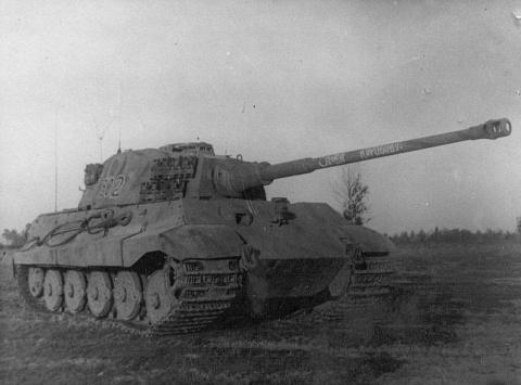 Неравные танковые дуэли. Т-34-85 против «Королевских тигров»