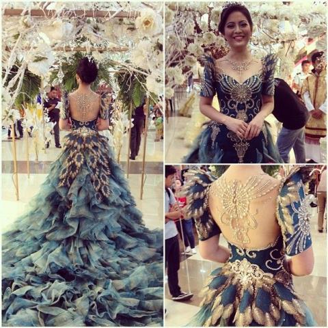 Просто мечта — роскошные платья от филиппинского дизайнера Mak Tumang