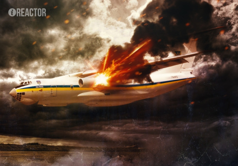 Уничтожение Ил-76 с десантни…