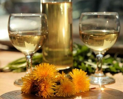 НАСТРОЙ ДНЯ. Вино из одуванчиков