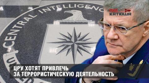 ЦРУ хотят привлечь за террористическую деятельность