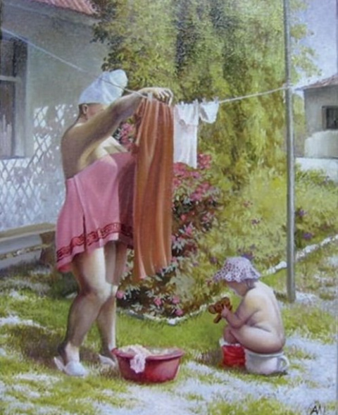 Реалистичные картины художни…