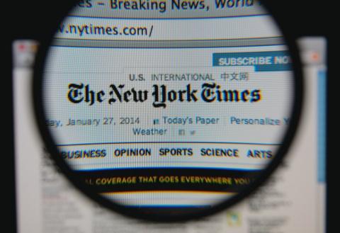 Дешёвая подделка: NYT совету…