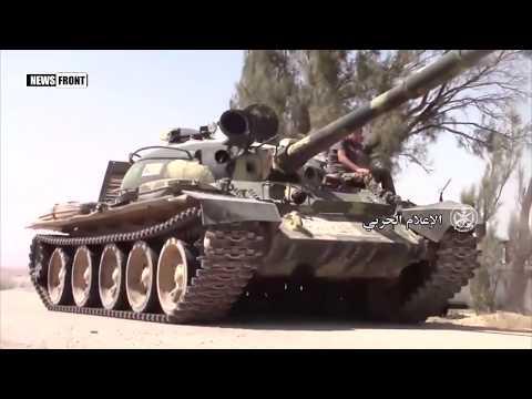 Армия Сирии ведет бои с террористами ИГИЛ к югу-востоку от Пальмиры