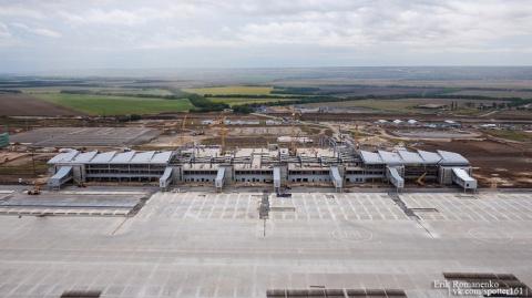 Строительство аэропорта «Пла…