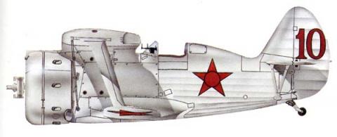 И-153 выпуска 1940 года. Киевский ОВО, лето 1941 года