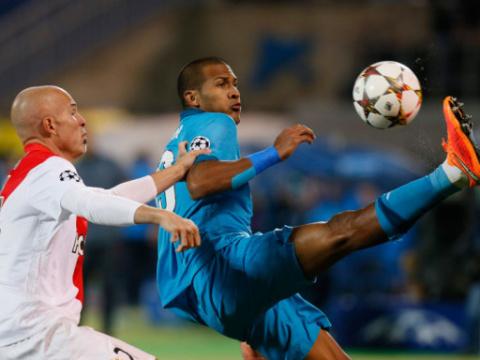 «Зенит» в Санкт-Петербурге сыграл вничью с «Монако»