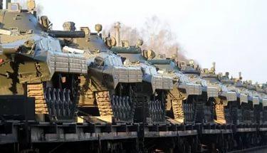 В Латвию прибыла военная техника для батальона НАТО