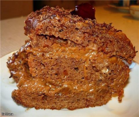 """Десертный вихрь. Торт """"Цыганка"""""""