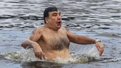 Крещенское купание Михаила С…