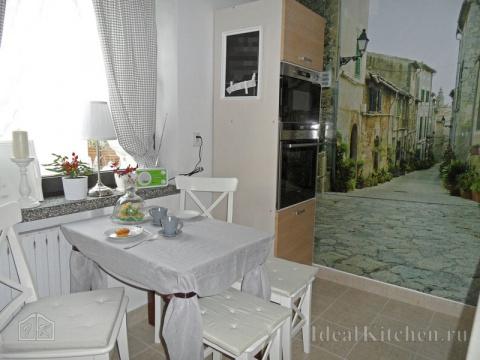 Угловая кухня 7,5 кв м с фот…
