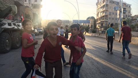 Сирия: боевые действия в Але…